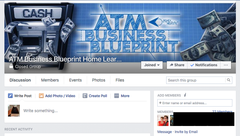 Atm business blueprint atm business blueprint atm business blueprint private facebook group malvernweather Images
